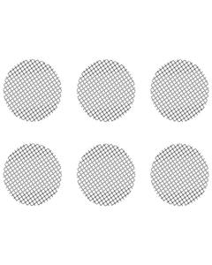 Deze Set van Kleine Groffe Gaasjes bestaat uit 6 gaasjes die passen in de Crafty, de Mighty en in Doseercapsule Adapters