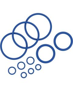 De Afsluitingen Set bevat 11 afsluitringen van verschillende formaten voor de Crafty vaporizer