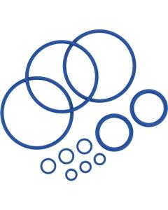 De Afsluitringen Set bevat 11 afsluitringen van verschillende formaten voor de Mighty vaporizer