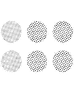 Deze Set van Kleine Gemixte Gaasjes bestaat uit 4 groffe gaasjes en 4 normale gaasjes die passen in de Crafty, de Mighty en in Doseercapsule Adapters