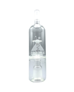 De Obsidian Glass Bubbler maakt de damp gladder tijdens de inhalatie door de temperatuur te verlagen en de vochtigheid te verhogen