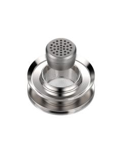 De Doseercapsule Adapter voor Volcano vaporizers is bedoeld om te gebruiken wanneer je het formaat van de oven wil verkleinen of om een Doseercapsule te plaatsen