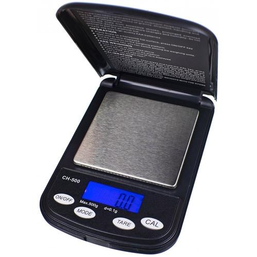 De On Balance Champion is een Kleine Weegschaal die tot 500 g kan afwegen met een precisie van 0,1 g